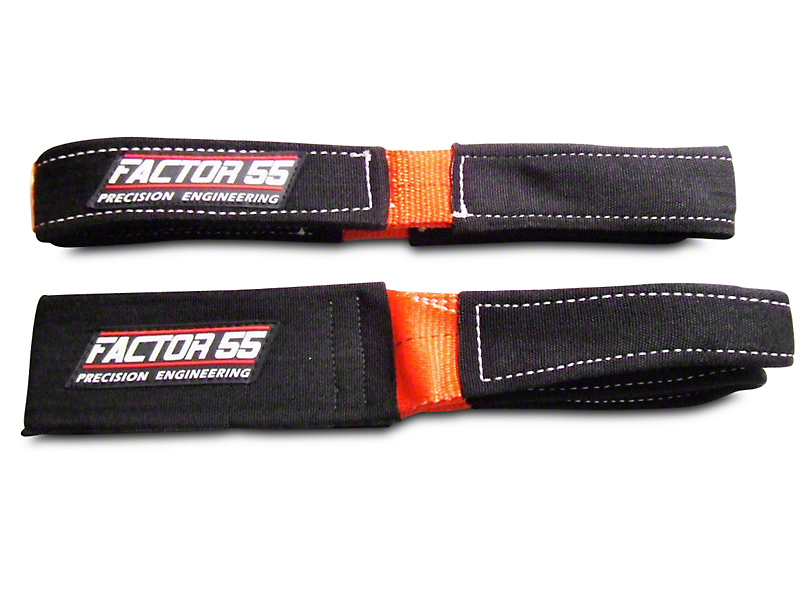 Factor 55 Shorty Strap III - 3 ft. x 3 in. (02-19 RAM 1500)