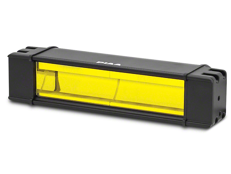 PIAA RF Series 10 in. Yellow LED Light Bar - Fog Beam