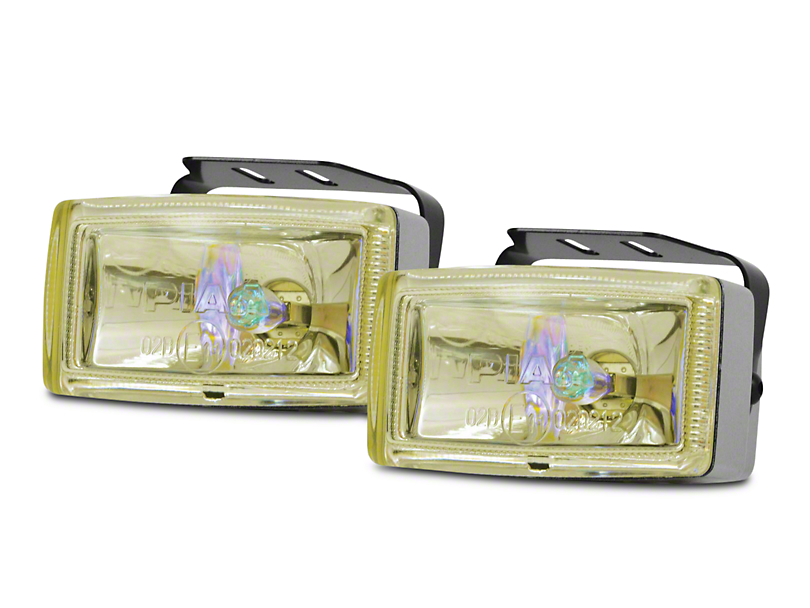 PIAA 2000 Series Ion Yellow Halogen Lights - Fog Beam - Pair
