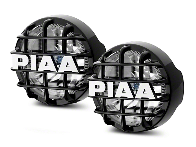 PIAA Series 4 in. Round Xtreme White SMR Lights - Fog Beam - Pair (02-19 RAM 1500)