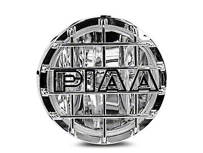 PIAA 520 Series 6 in. Round Chrome SMR Halogen Light - Driving Beam (02-18 RAM 1500)