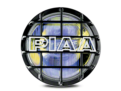 PIAA 520 Series 6 in. Round Ion Yellow Halogen Light - Driving Beam (02-18 RAM 1500)