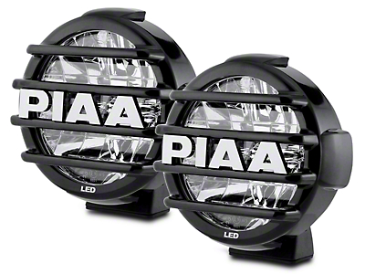 PIAA LP570 7 in. Round LED Lights - Driving Beam - Pair