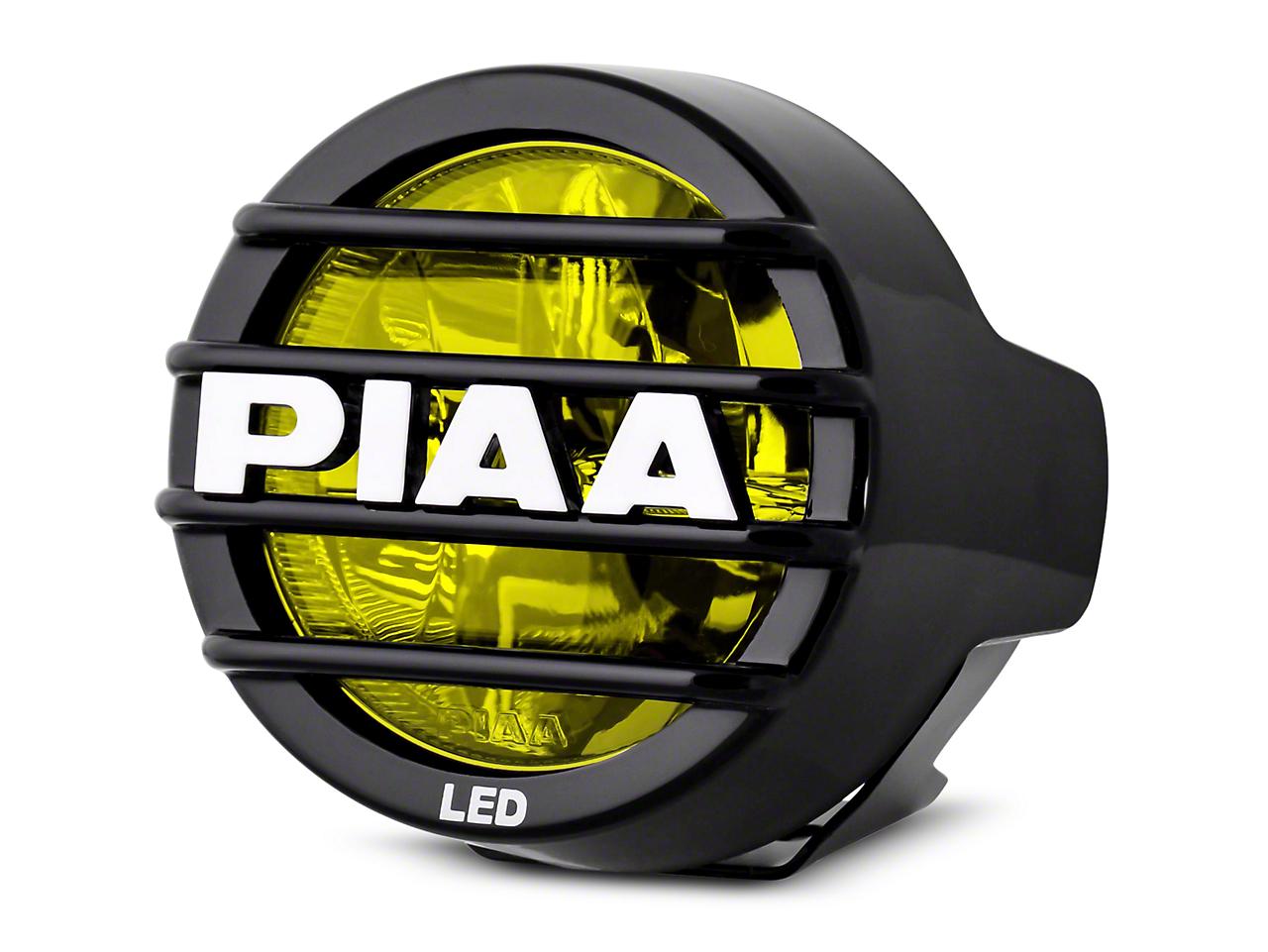 PIAA LP530 3.5 in. Round Ion Yellow LED Light - Fog Beam