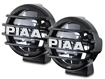 PIAA LP560 6 in. Round LED Lights - Driving Beam - Pair