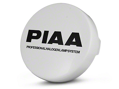 PIAA 520/40 Series 6 in. Round Solid White Cover w/ PIAA Logo (02-17 All)