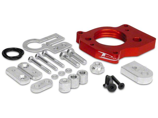 Airaid PowerAid Throttle Body Spacer (02-04 3.7L RAM 1500)