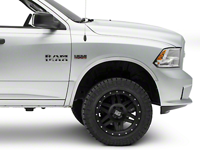 Stainless Steel Fender Trim - Polished (09-18 RAM 1500 w/o OEM Fender Flares)