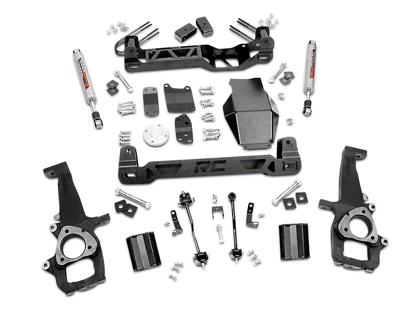 Rough Country 4 in. Suspension Lift Kit (06-08 4WD RAM 1500)