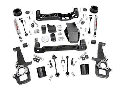 Rough Country 4 in. Suspension Lift Kit (09-11 4WD RAM 1500)