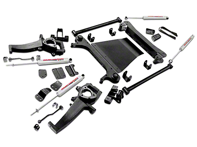 Rough Country 5 in. Suspension Lift Kit (02-05 4WD RAM 1500)