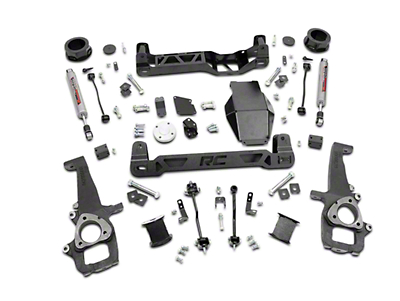Rough Country 4 in. Suspension Lift Kit w/ Shocks (12-18 4WD RAM 1500 w/o Air Ride)