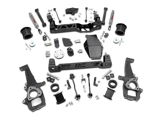 Rough Country 6 in. Suspension Lift Kit w/ Shocks (12-18 4WD RAM 1500 w/o Air Ride)