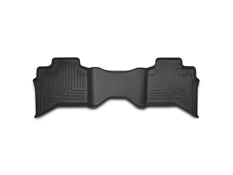 Husky WeatherBeater 2nd Seat Floor Liner - Black (02-08 RAM 1500 Quad Cab)