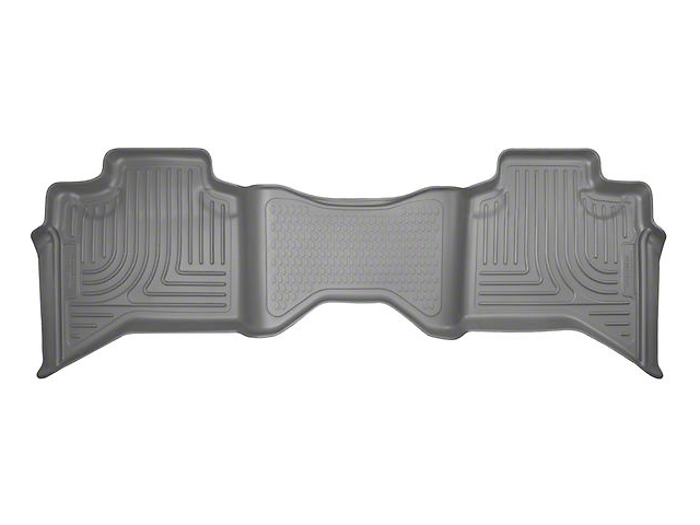 Husky WeatherBeater 2nd Seat Floor Liner - Gray (02-08 RAM 1500 Quad Cab)