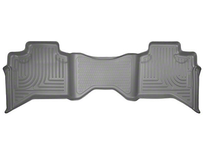 Husky WeatherBeater 2nd Seat Floor Liner - Gray (02-08 RAM 1500 Quad Cab)