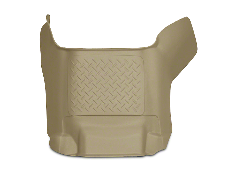 Husky WeatherBeater Center Hump Floor Liner - Tan (09-18 RAM 1500 Crew Cab)