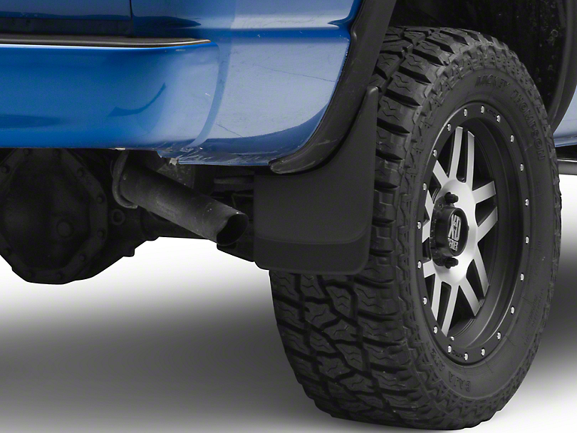 Husky Custom Molded Rear Mud Guards (02-08 RAM 1500 w/o Fender Flares)