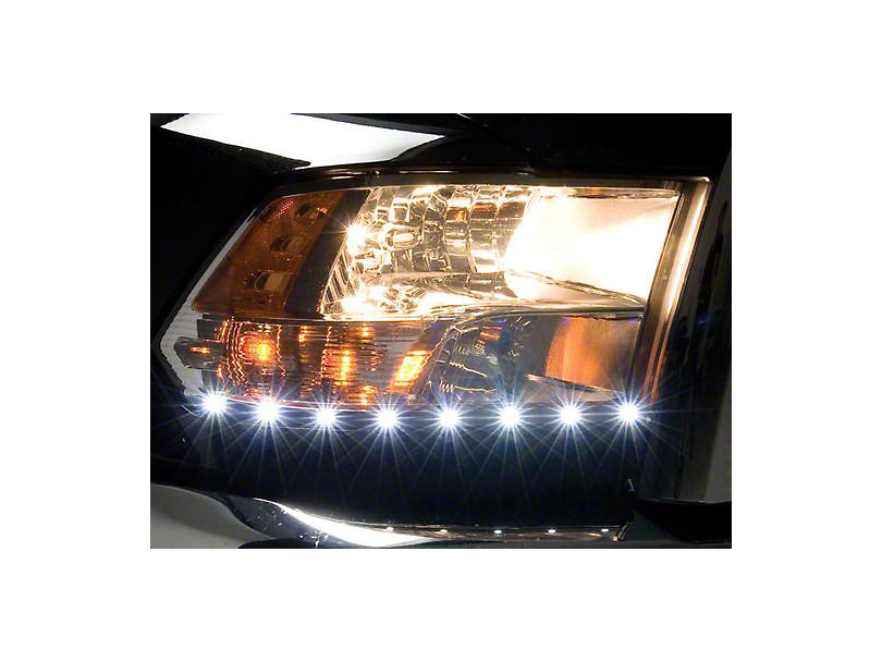 Putco LED Dayliner G2 Kit - Black (09-18 RAM 1500)