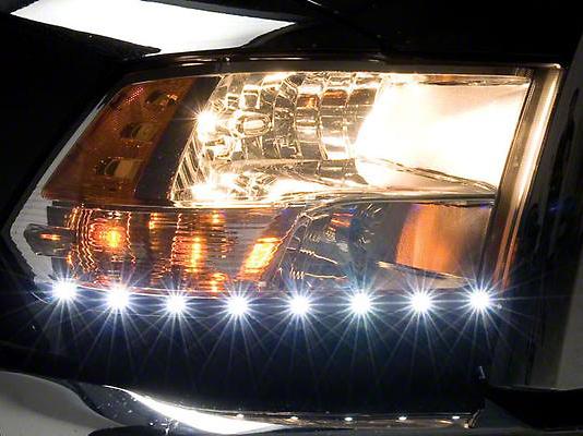 Putco LED Dayliner G2 Kit - Black (09-18 RAM 1500)