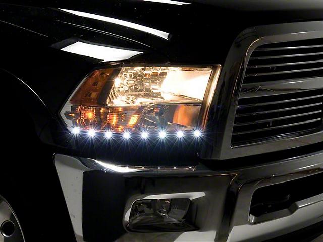 Putco LED Dayliner G2 Kit - Polished (09-18 RAM 1500)