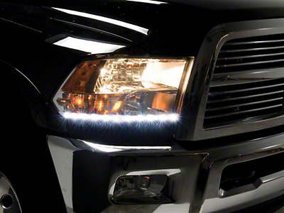 Putco LED Dayliner G3 Kit - Polished (09-18 RAM 1500)