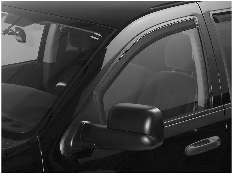 Putco Element Tinted Window Visors - Channel Mount - Fronts Only (06-08 RAM 1500 Mega Cab)