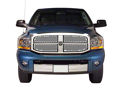 Punch Stainless Steel Upper Overlay Grilles - Polished (06-08 RAM 1500)
