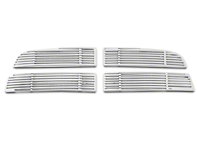 Putco Liquid Billet Upper Overlay Grilles - Polished (09-12 RAM 1500)
