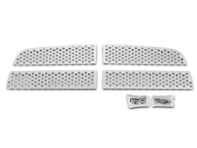 Putco Punch Stainless Steel Upper Overlay Grilles - Polished (09-12 RAM 1500)