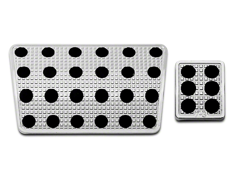 Putco Liquid Pedal Covers - Track Design (09-18 RAM 1500)