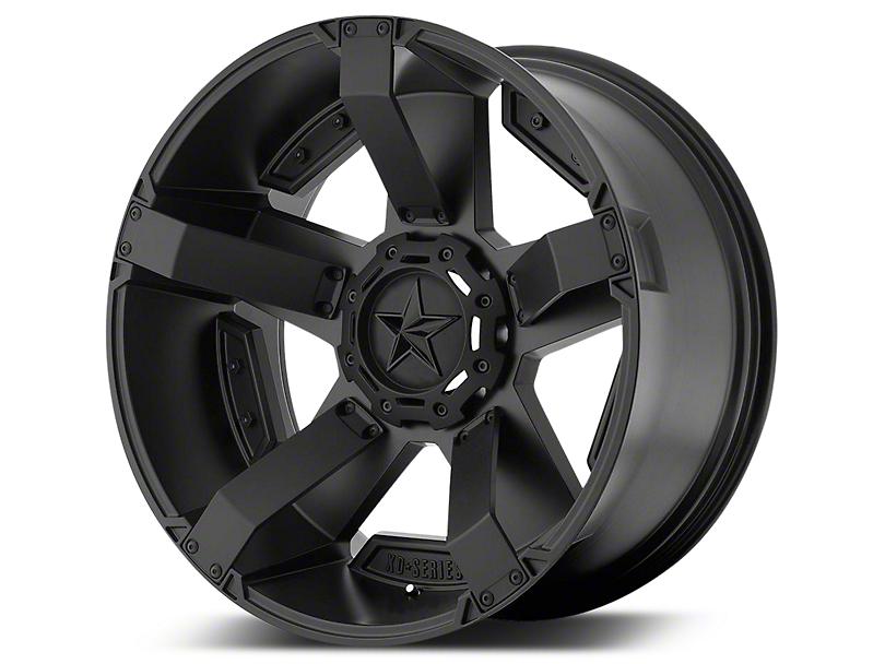 Rockstar XD811 RS2 Satin Black 5-Lug Wheel - 20x12 (02-18 RAM 1500, Excluding Mega Cab)