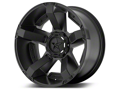 Rockstar XD811 RS2 Satin Black 5-Lug Wheel - 20x12 (02-18 RAM 1500, Excluding Mega Cab)