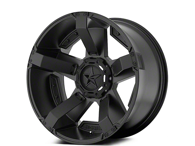 Rockstar XD811 RS2 Satin Black 5-Lug Wheel - 17x8 (02-18 RAM 1500, Excluding Mega Cab)