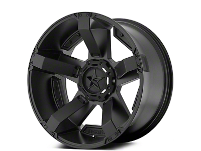 Rockstar XD811 RS2 Satin Black 5-Lug Wheel - 17x9 (02-18 RAM 1500, Excluding Mega Cab)