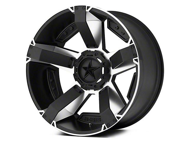 Rockstar XD811 RS2 Black Machined 5-Lug Wheel - 18x9 (02-18 RAM 1500, Excluding Mega Cab)