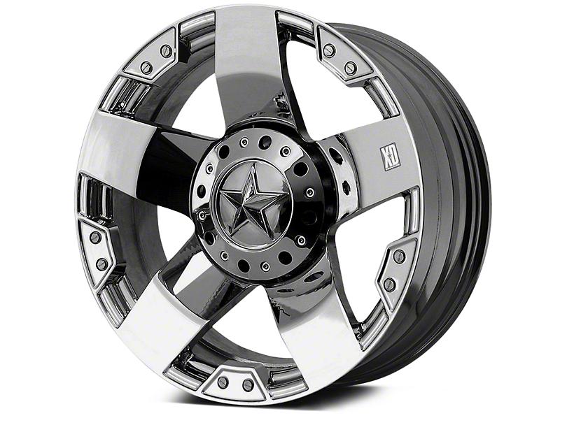 Rockstar XD775 Chrome 5-Lug Wheel - 20x8.5 (02-18 RAM 1500, Excluding Mega Cab)