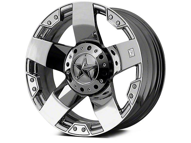 Rockstar XD775 Chrome 5-Lug Wheel - 20x8.5 +35mm Offset (02-18 RAM 1500, Excluding Mega Cab)