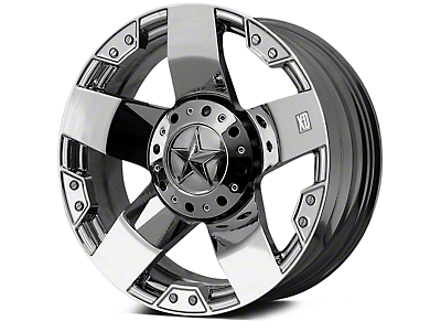 Rockstar XD775 Chrome 5-Lug Wheel - 18x9 (02-18 RAM 1500, Excluding Mega Cab)