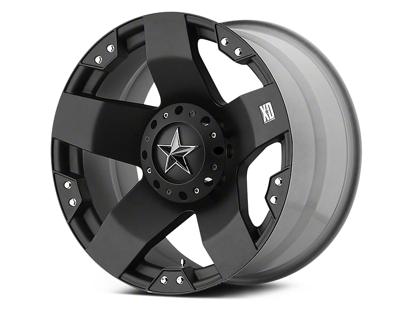Rockstar XD775 Matte Black 5-Lug Wheel - 20x10 (02-18 RAM 1500, Excluding Mega Cab)