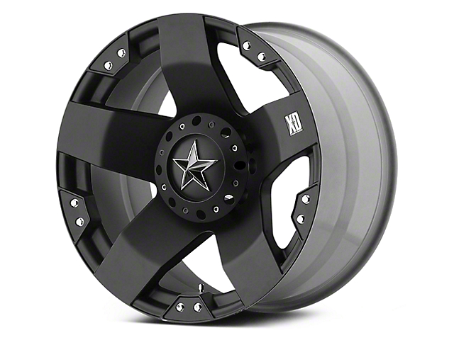 Rockstar XD775 Matte Black 5-Lug Wheel - 17x9 (02-18 RAM 1500, Excluding Mega Cab)