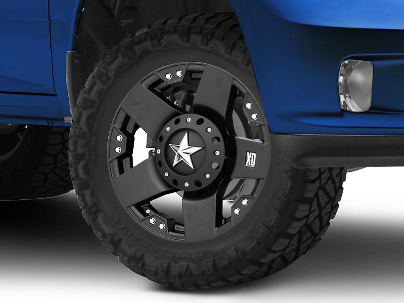 Rockstar XD775 Matte Black 5-Lug Wheel - 18x9; 0mm Offset (02-18 RAM 1500, Excluding Mega Cab)