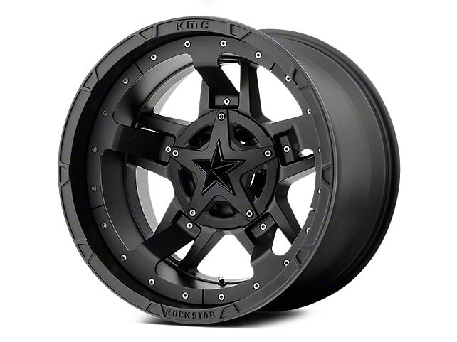 Rockstar XD827 RS3 Matte Black 5-Lug Wheel - 22x12 (02-18 RAM 1500, Excluding Mega Cab)
