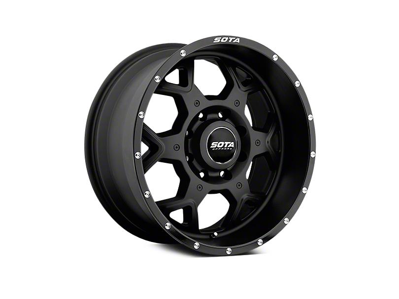 SOTA Off Road SKUL Stealth Black 5-Lug Wheel - 20x9 (02-18 RAM 1500, Excluding Mega Cab)