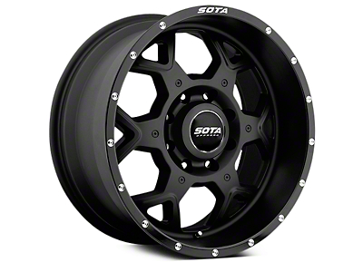 SOTA Off Road SKUL Stealth Black 5-Lug Wheel - 20x9 (02-18 RAM 1500, Excluding Mega Cab)