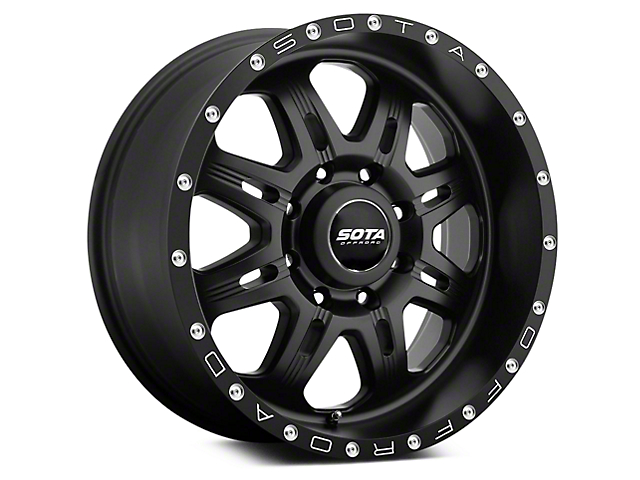 SOTA Off Road FITE Stealth Black 5-Lug Wheel - 20x9 (02-18 RAM 1500, Excluding Mega Cab)