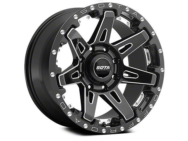 SOTA Off Road BATL Death Metal 5-Lug Wheel - 20x10 (02-18 RAM 1500, Excluding Mega Cab)