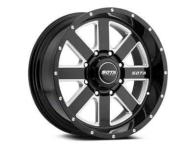 SOTA Off Road AWOL Death Metal 5-Lug Wheel - 20x9 (02-18 RAM 1500, Excluding Mega Cab)