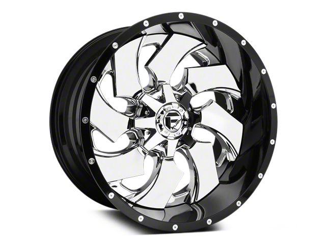 fuel wheels ram cleaver chrome w gloss black lip 5 lug wheel 02 Silverado Single fuel wheels cleaver chrome w gloss black lip 5 lug wheel 20x10 02 18 ram 1500 excluding mega cab