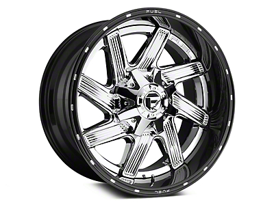 Fuel Wheels Moab Chrome 5-Lug Wheel - 20x10 (02-18 RAM 1500, Excluding Mega Cab)